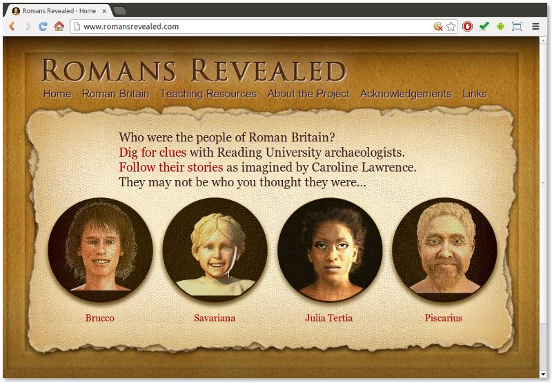 Romans Revealed website